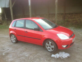 2005 (54) Ford Fiesta Zetec Climate New MOT and New Clutch