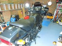 BMW K75 Motorcycle, good condition for year. Runs perfectly.
