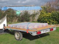 Flat-bed Trailer 225/145 dimensions (The flat-bed)