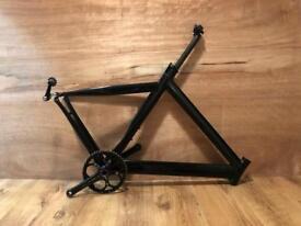 Pro-lite Bike frame + cranks & BB + seat post