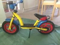 Kids balace bike / push bike