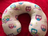 Owl nursing pillow