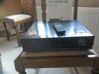 Sony Video 8 recorder. Hardly used - instruction book - could be used for spares.