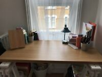 IKEA desk legs + wooden top (together or separately)