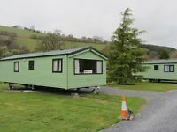 Static caravan for sale in the heart of Mid- Wales.