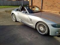 BMW Z4 ROADSTER CONVERTIBLE LOW MILES FSH (MAY SWAP OR CHEAP PX P/X PART EXCHANGE CONSIDERED WHY?)