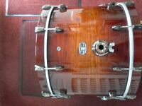 Yamaha Live Oak Custom Drums.