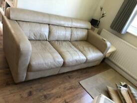 Sofa - 3 Seater-Leather