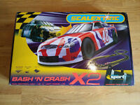 SCALEXTRIC BASH 'N CRASH X2,EXCELLENT CONDITION,HARDLY USED, BEEN BOXED & STORED SAFELY.FULLY WORKS