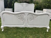 French Antique Bedroom Set 5 pieces