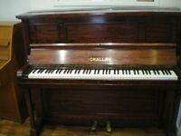 Challen Piano For Sale .---Free Delivery