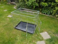 Pet CAGE / CARRIER , Folds flat for storage