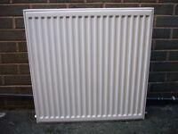 Small domestic double radiator