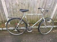 Vintage Gents BSA Town Bike. 1980. Good Condition, Free Lock, Lights, Delivery