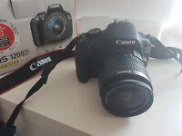 Canon EOS 1200D plus Zoom Lens 18-55mm