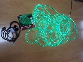 Christmas Rope Lights Static - Green
