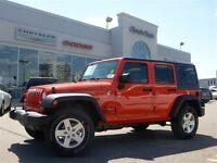 2015 Jeep WRANGLER UNLIMITED Sport NEW 4X4 Hardtop Power Opts Tr