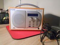 DAB RADIO (PURE) digital radio EVOKE - 1 xt Tri- Band , owners Manual & Quick Start Guide