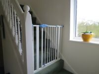 Two Lindam Easy-Fit Safety gates £10