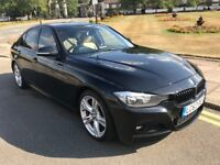 62 PLATE BMW 318D AUTO M SPORT F30 BLACK & CREAM LEATHER FSH CHEAP 116D 118D 120D 318 316D 320D 325D