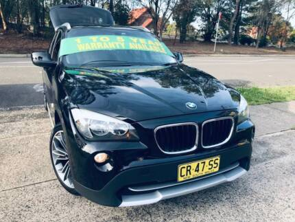 MY12 2011 BMW X Series sDrive X1 Luxury LOGBOOKS 2 Keys LONG REGO Sutherland Sutherland Area Preview