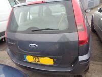 BREAKING --- Ford Fusion 3 Semi Auto 1.4L Petrol 78BHP ----- 2003