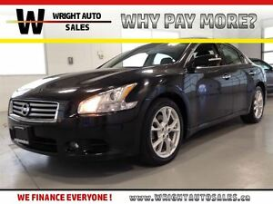 2014 Nissan Maxima SV| LEATHER| BACKUP CAM| SUNROOF| BLUETOOTH|
