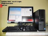 FAST Dell QUAD core i5 .. 4th gen. desktop TOWER upgrade
