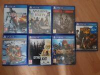 PS4 GAMES JOB LOT