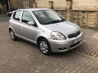 TOYOTA YARIS 1.0 VVTI 55 5 Door 1 Owner