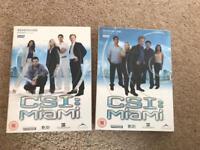 Full box sets of CSI Miami Season 1,2,3,4,5,6&7