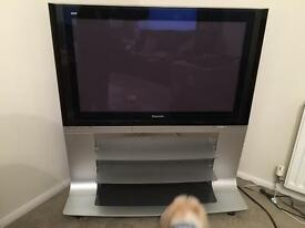 Television 42 inch Viera Panasonic Tv with built in stand