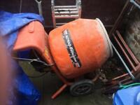 Belle 240 v cement mixer