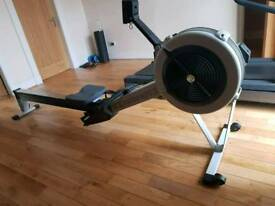 Concept 2 Model D PM 3 Black Rowing Machine (like new)