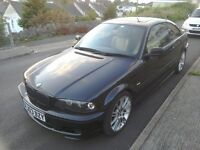 BMW 330 ci MSport, low mileage, manual gearbox, 2003 e46 coupe with high spec 330ci
