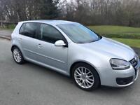 2008 VW GOLF GT TDI SPORT 140 BHP DSG AUTO *FSH* x2 keys not 170 gti final edition non dpf