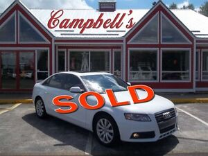 2012 Audi A4 2.0T QUATTRO AWD!! SUNROOF!! HEATED LEATHER!! ONLY