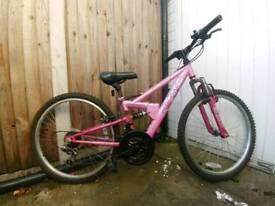 """Child's 24"""" Apollo mountain bike."""