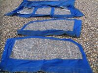 boat parts canopy for a Sancerre cruiser