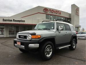 2012 Toyota FJ Cruiser OFF ROAD|LOW KM!|NEW TIRES|EXT WARRANTY