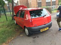 Fiat punto, low mileage, like new ideal first car!