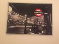 IKEA wall art - London canvas