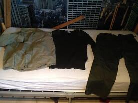 Full combat/military/hunting clothes