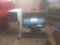 for sale computer set up windows 7 full workin g order £25