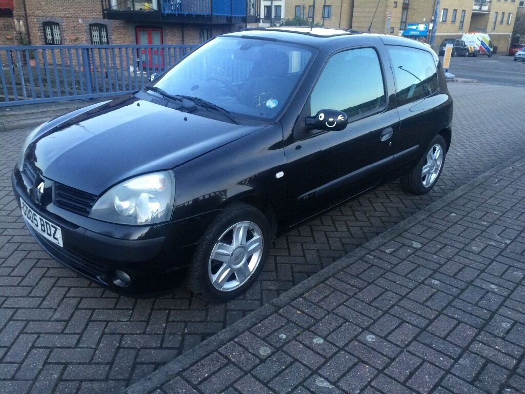 2005 renault clio 1 2 590 in limehouse london gumtree. Black Bedroom Furniture Sets. Home Design Ideas