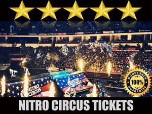 Discounted Nitro Circus Tickets | Last Minute Delivery Guaranteed!