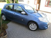 2010 Metallic Blue Renault Clio