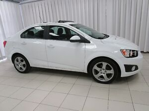 2015 Chevrolet Sonic LT SEDAN W/  BACK-UP CAM, BLUETOOTH, REMOTE
