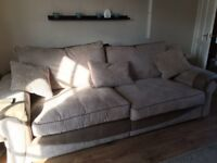 4 seater sofa and swivel chair forsale