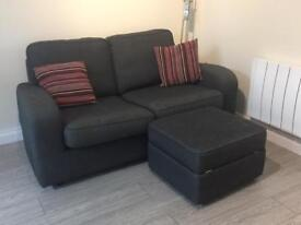 Sofabed and footrest set